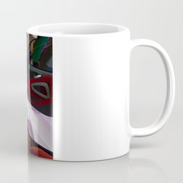 Smart ForTwo Turbo Cabrio Tritop Inside Coffee Mug