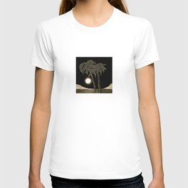 Full moon night T-shirt