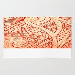 Layered Tapa Rug