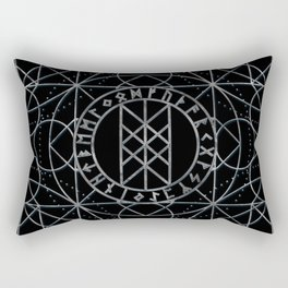 Web of Wyrd  -The Matrix of Fate Rectangular Pillow