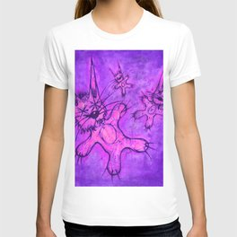 Record Cover for some Jazzed Rabbits, Indigoish. T-shirt