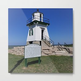 Port Clinton Light Station Metal Print