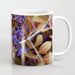Alien landscape autumn berry surreal plants Coffee Mug