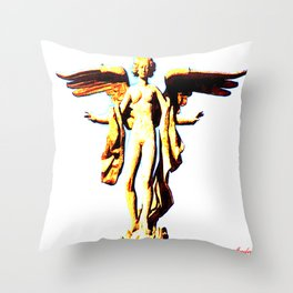 Victoria Alada  ( Winged Victory) Throw Pillow