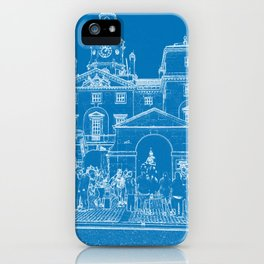 London Horse guards & Bus iPhone Case