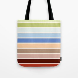 The colors of - Porco Rosso Tote Bag