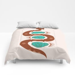 Southwestern Slither Comforters