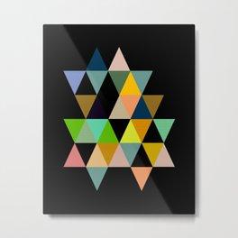 Abstract #821 Metal Print