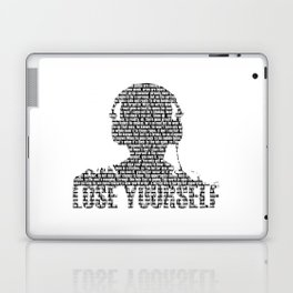 Lose Yourself - Text Art Laptop & iPad Skin