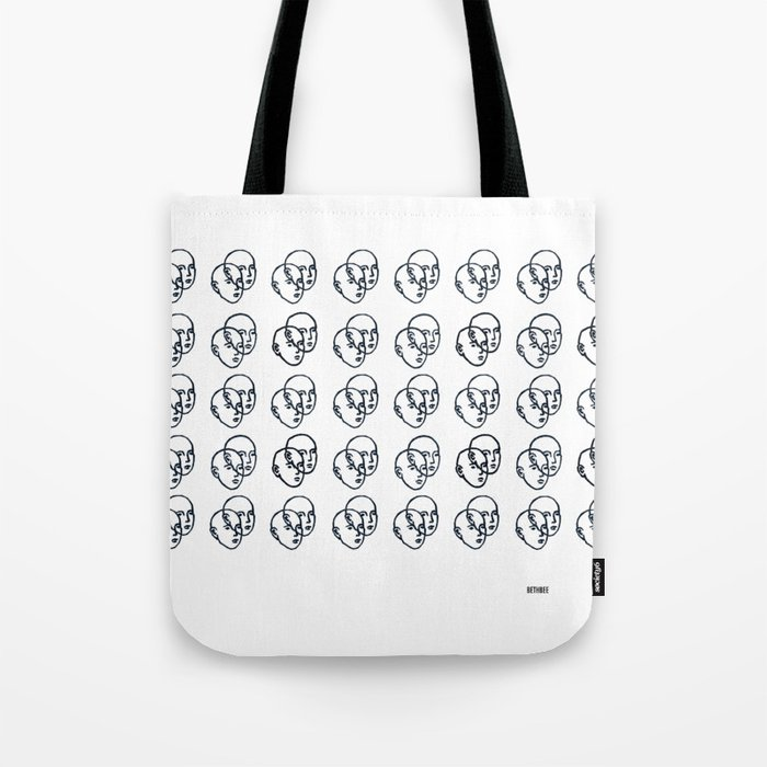Double Faces Tote Bag