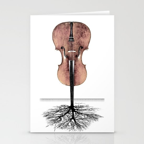 Rooted Sound II Stationery Cards