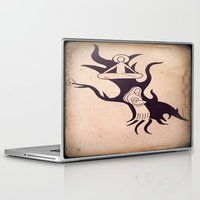 mother Laptop & iPad Skins featuring Mother by Gerard Marinaccio