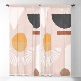 Elegant Geometry 39 Blackout Curtain