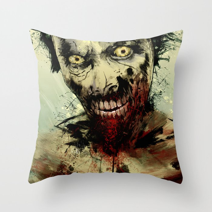 UNDEAD Throw Pillow