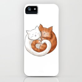 A furry ball of love iPhone Case