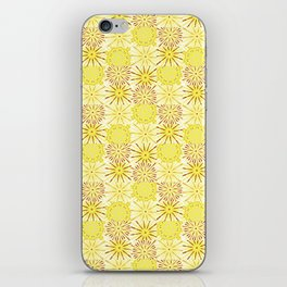 A starburst of sunflowers iPhone Skin