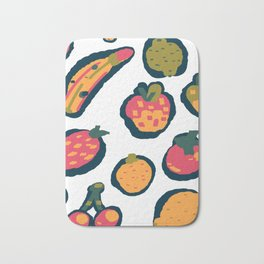 Oops, dropped the fruit bowl! Bath Mat