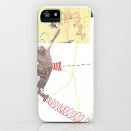 """going nowhere fast"" iPhone Case"