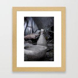 Travel: Morocco Potter Framed Art Print