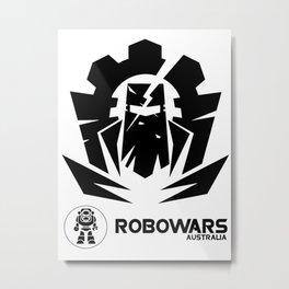 Robowars AU Metal Print