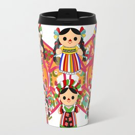 Mexican Dolls Travel Mug