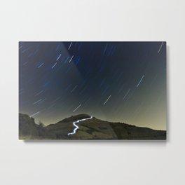 Camí de llum  //  Road of light Metal Print