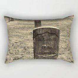 The Forgotten Graves Rectangular Pillow