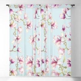 Delicate Magnolia Blackout Curtain