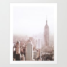 New York City Late Afternoon Art Print