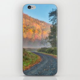 Misty Autumn McDade Trail iPhone Skin