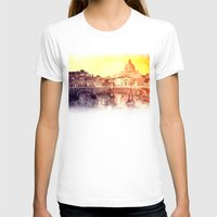 rome T-shirts featuring Rome by takmaj