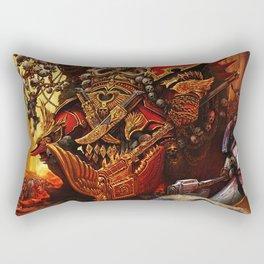 the king orc Rectangular Pillow