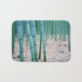 The Bamboo Grove, Arashiyama, Kyoto Bath Mat