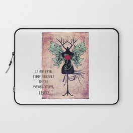 Wrong Story Laptop Sleeve