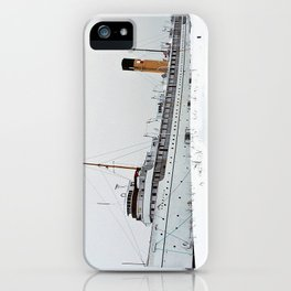SS Keewatin in Winter White iPhone Case