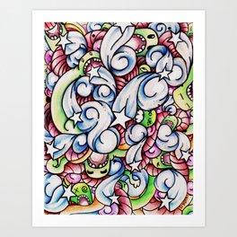 Full Monty. Art Print