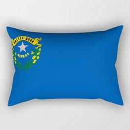 flag nevada,america,usa,silver state,sagebrush, battle born,nevadan,Las vegas,west,desert Rectangular Pillow