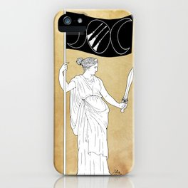 Goddess of Resistance iPhone Case