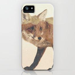 Veluwe: Fox iPhone Case