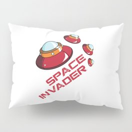 Space Invader Pillow Sham