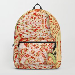 Japanese Woman Rise Dressing Backpack