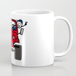 Jeep Wave Boy - Red Coffee Mug
