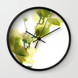 Love by green Wall Clock