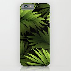 Tropical Frond Pattern Slim Case iPhone 6s