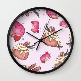 Cinni-Donut Wall Clock