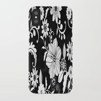 floral pattern iPhone & iPod Cases featuring Floral pattern by Laake-Photos