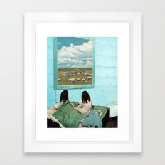 COUNT SHEEP Framed Art Print