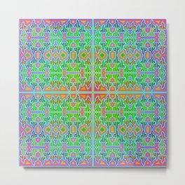 h - pattern 2 Metal Print