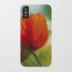 Poppy power Slim Case iPhone X
