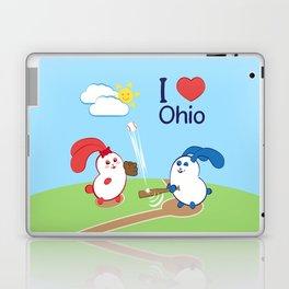 Ernest and Coraline | I love Ohio Laptop & iPad Skin
